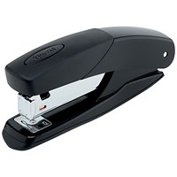 Rexel Torador Full Strip Stapler, Capacity: 25 Sheets, Black