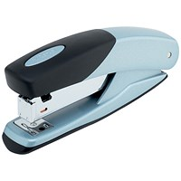 Rexel Torador Full Strip Stapler, Capacity: 25 Sheets, Silver & Black