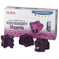 Xerox Phaser 8560 Magenta Solid Ink Sticks (Pack of 3)