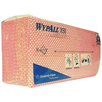 Wypall X50 Cleaning Cloths / Red / Pack 50