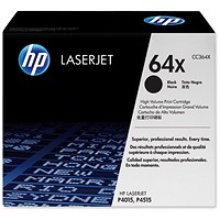 HP 64X High Yield Black Laser Toner Cartridge