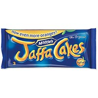 McVities Jaffa Cakes, 3 Cakes per Minipack, Pack of 24