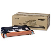 Xerox Phaser 6180 High Yield Cyan Laser Toner Cartridge