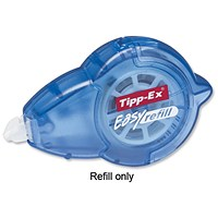 Tipp-Ex Refill for Easy-refill Correction Tape Roller, 5mmx14m, Pack of 10