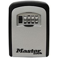 Master Lock Access Key Storage Unit Security Lock Aluminium Ref 5401D