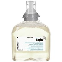 Gojo Antibacterial Foam Soap Hand Wash Refill, 1200ml, Pack of 2