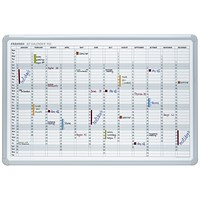 Franken Year Calendar Planner, Includes 2 Markers 3 Magnets, Mounted, 900x600mm