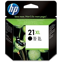 HP 21XL High Yield Black Ink Cartridge