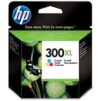 HP 300XL High Yield Colour Ink Cartridge