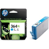 HP 364XL High Yield Cyan Ink Cartridge