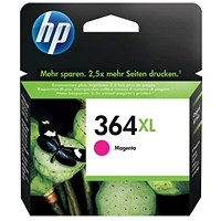 HP 364XL Magenta High Yield Ink Cartridge