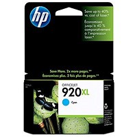 HP 920XL High Yield Cyan Ink Cartridge