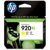 HP 920XL High Yield Yellow Ink Cartridge