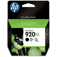 HP 920XL High Yield Black Ink Cartridge