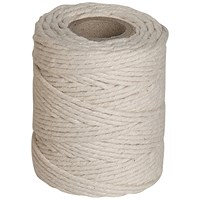 Twine Cotton, Medium, 250g, 114m, Pack of 6