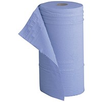 5 Star Hygiene Roll, Recycled, 2-ply, 130 Sheets, Blue