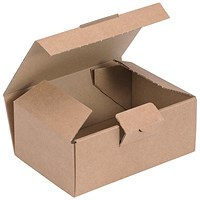 Easi Mailer Kraft Mailing Box / 160x110x64mm / Brown / Pack of 20
