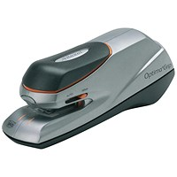 Rexel Optima Grip Electric Stapler Mains or 6x AA Battery No. 56 26/6, Capacity: 20x 80gsm