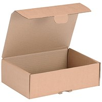 Mailing Carton, 250x175x80mm, Brown, Pack of 20