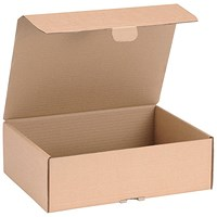 Mailing Carton, 325x240x105mm, Brown, Pack of 20