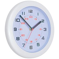 5 Star Controller Wall Clock Diameter 250mm White