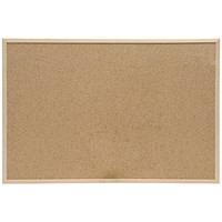 5 Star Cork Board, Pine Frame, W900mmxH600mm