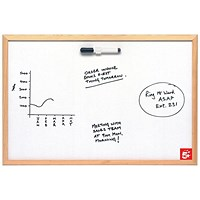 5 Star Economy Drywipe Board - W900xH600mm