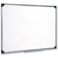 5 Star Magnetic Whiteboard, Aluminium Frame, W900xH600mm