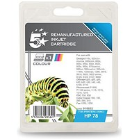 5 Star Compatible - Alternative to HP 78 Colour Ink Cartridge