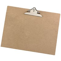 5 Star Rigid Hardboard Clipboard - A3