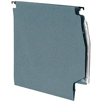 5 Star Lateral Files with Tabs & Inserts, 275mm Width, Green, Pack of 50