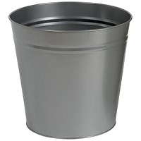 5 Star Round Waste Bin, Metal, Scratch Resistant, D300xH280mm, 15 Litres
