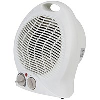 Igenix Fan Heater with Thermostat Three Settings 800W 1kW 2kW