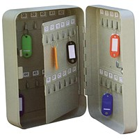 5 Star Key Cabinet Steel Lockable Holds 48 Keys W180xD80xH250mm