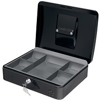 5 Star Cash Box - 12 Inch - Black