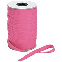 5 Star Legal Tape Reel, 10mmx100m, Pink