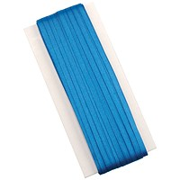 5 Star Legal Tape Braids, Silk, Suitable for Wills, 6mm x 50m, Blue