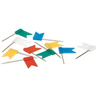 5 Star Marking Flags, Assorted Colours, Pack of 100