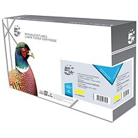 5 Star Compatible - Alternative to HP 124A Yellow Laser Toner Cartridge