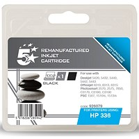 5 Star Compatible - Alternative to HP 336 Black Ink Cartridge