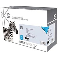 5 Star Compatible - Alternative to HP 43X Black Laser Toner Cartridge