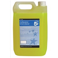 5 Star Multipurpose Concentrated Lemon Cleaner - 5 Litres