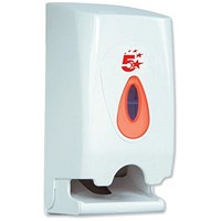 5 Star Twin Toilet Roll Dispenser