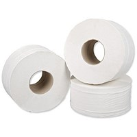 5 Star Mini Jumbo Roll, 2-Ply, 200m, 12 Rolls