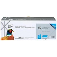 5 Star Compatible - Alternative to HP 128A Cyan Laser Toner Cartridge