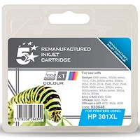 5 Star Compatible - Alternative to HP 301XL Colour Ink Cartridge