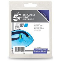 5 Star Compatible - Alternative to Brother LC985C Cyan Inkjet Cartridge