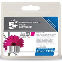 5 Star Compatible - Alternative to Epson T1293 Magenta Inkjet Cartridge