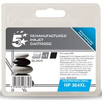 5 Star Compatible - Alternative to HP 364XL Black Ink Cartridge