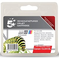 5 Star Compatible - Alternative to Canon CL-541XL Tri-Colour Inkjet Cartridge